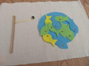 chytanie filcových rýb