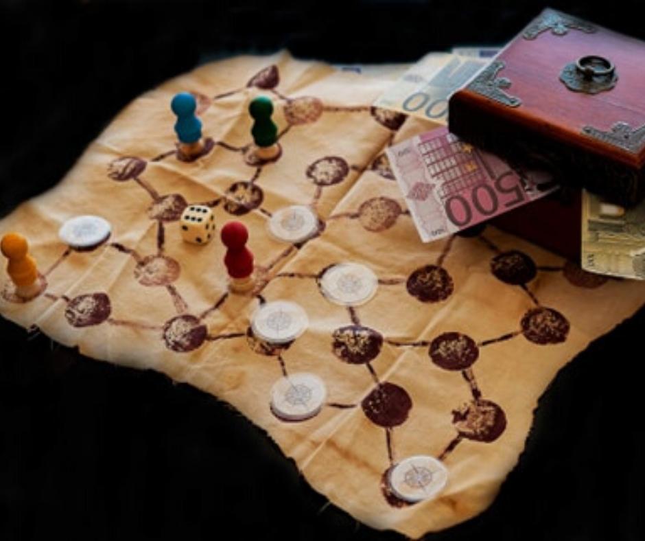 hra hladanie pokladu