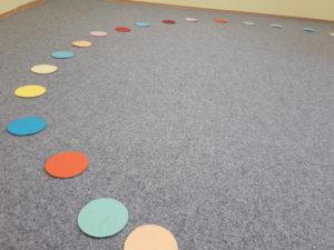 pohybova hra kruhy