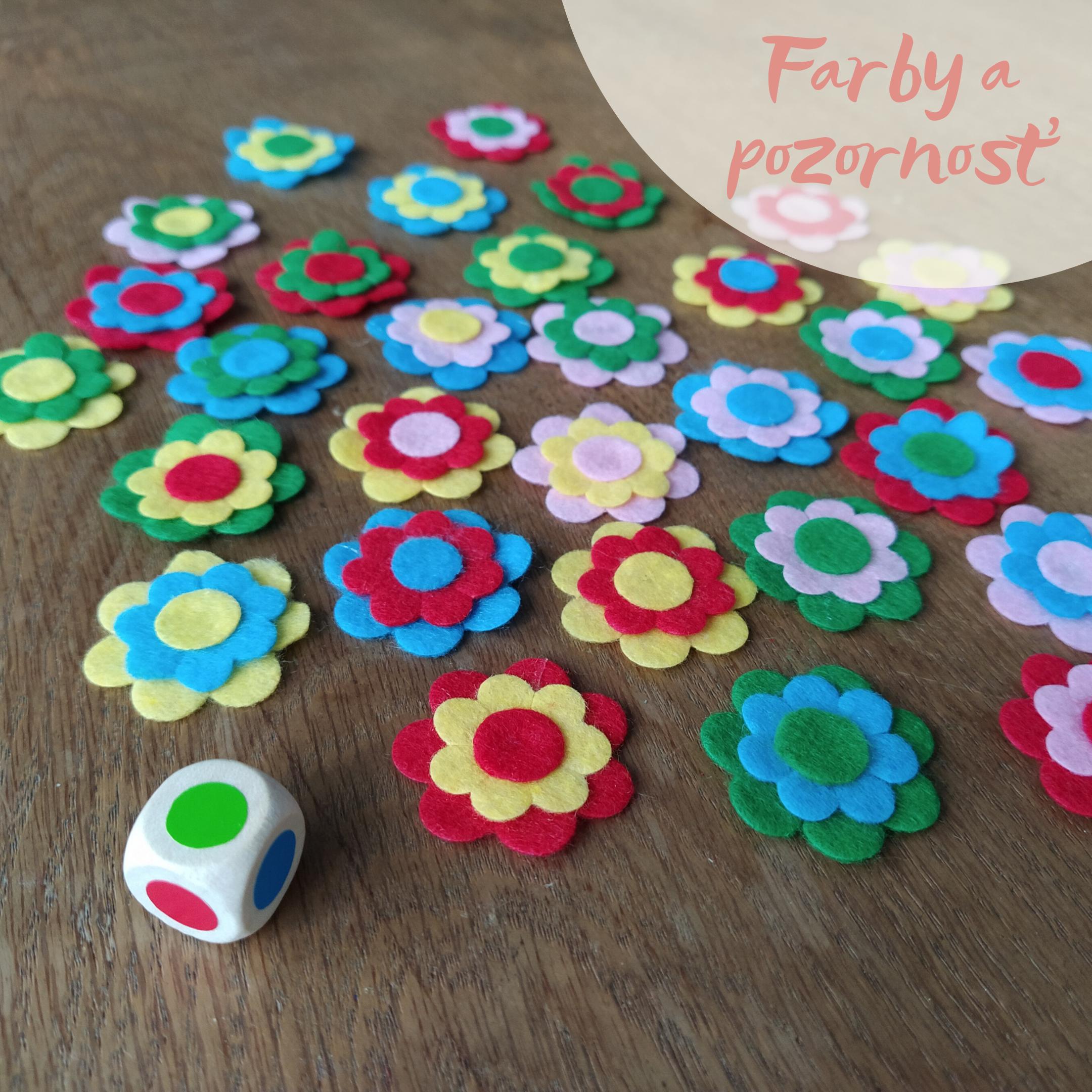 hra farebne kvety
